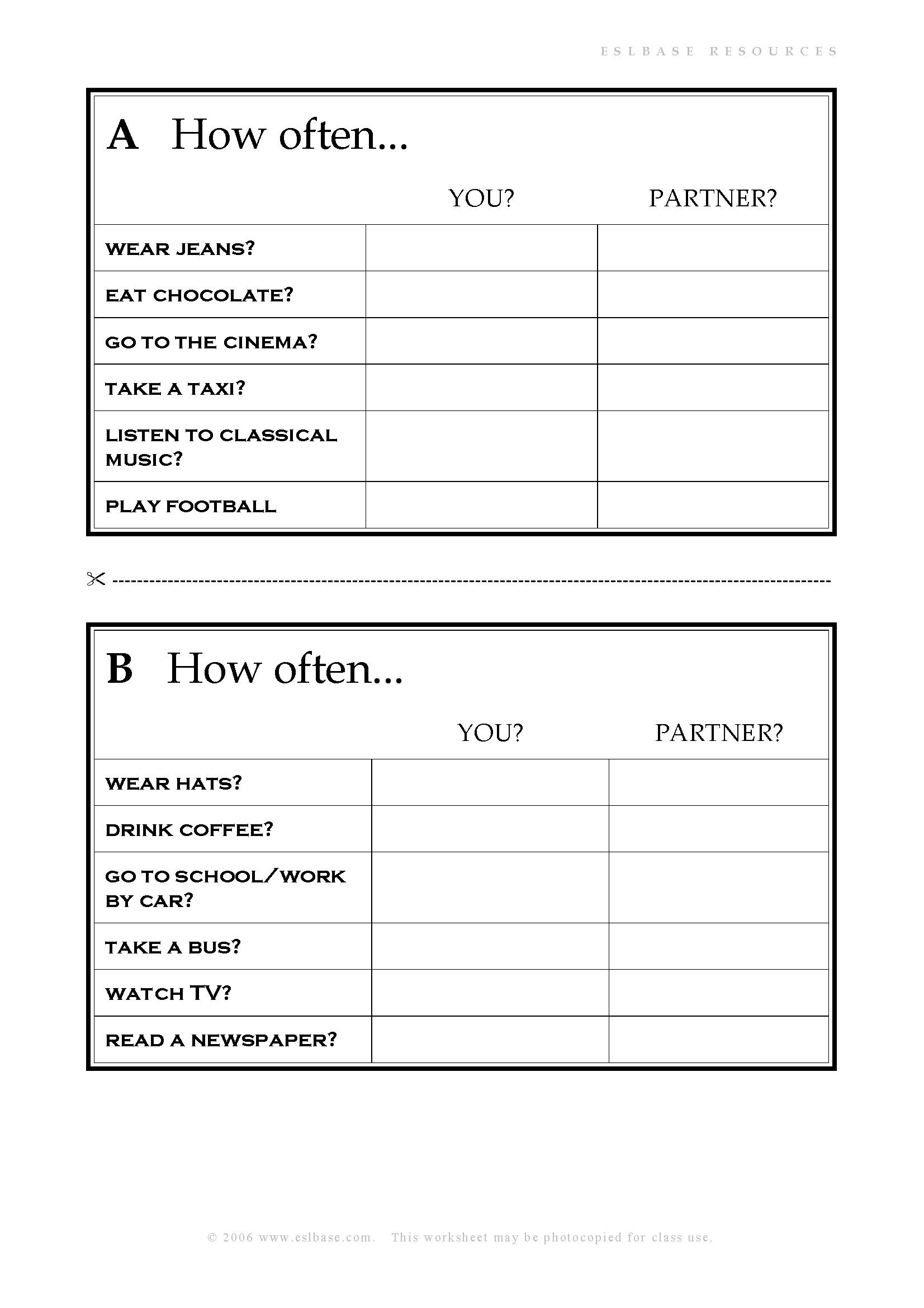 hight resolution of Esl Teamwork Worksheet   Printable Worksheets and Activities for Teachers
