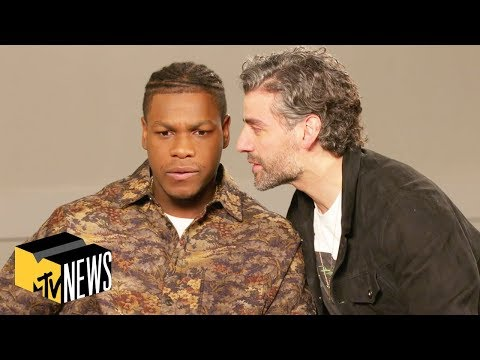 Star Wars The Rise Of Skywalker Cast Play Name That Star Wars Character Mtv News Star Wars Characters Mtv American Actors