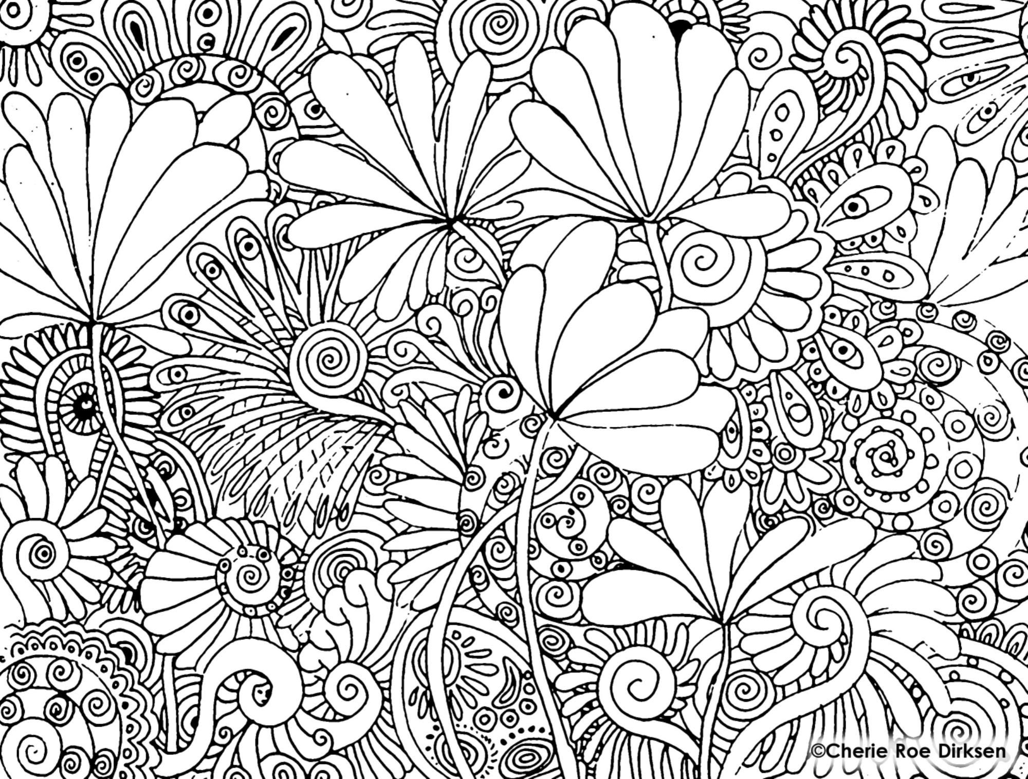 color therapy coloring pages lionfish - photo#21