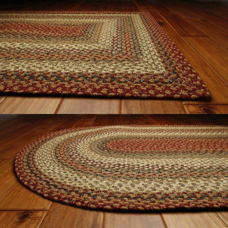 Kieffer Abstract Multicolor Braided Area Rug Rugs Diy