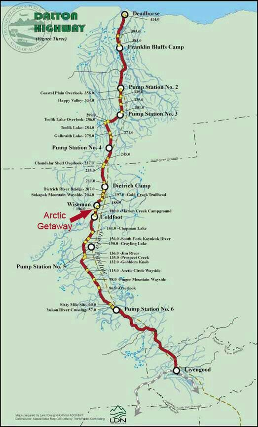 Bluff Alaska Map.Dalton Highway Map Alaska Pinterest Alaska Adventures Alaska