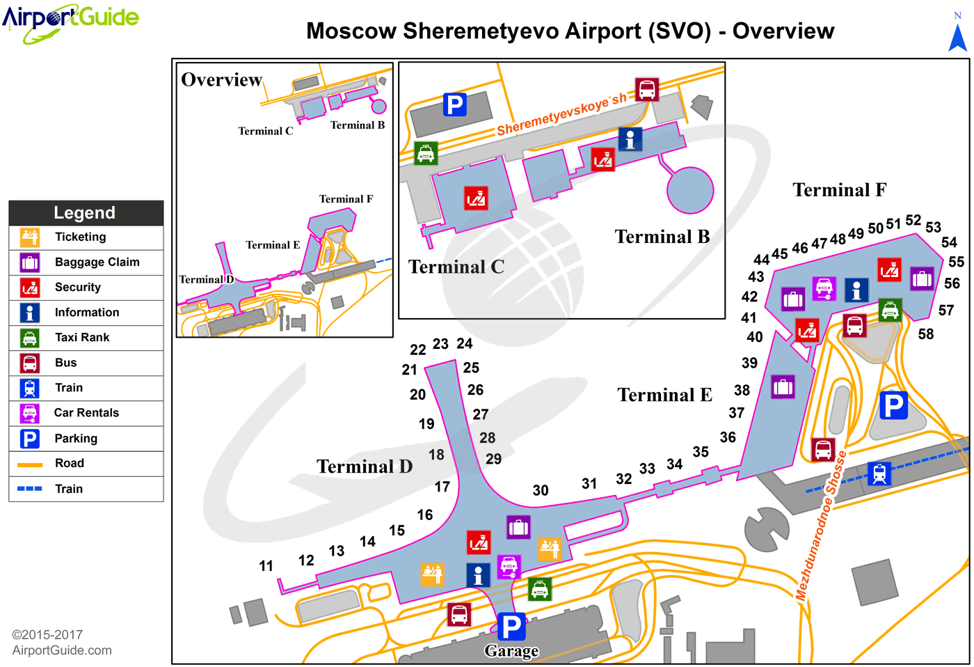 sheremetyevo airport map terminal d Moscow Sheremetyevo International Svo Airport Terminal Map sheremetyevo airport map terminal d