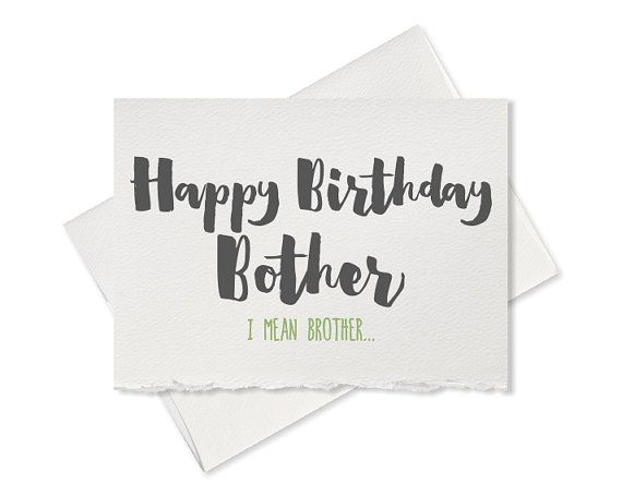 Funny Birthday Card Funny Greeting Card Funny Happy Birthday Card