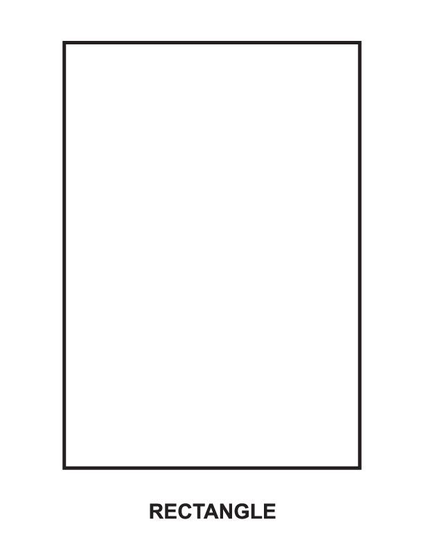 Rectangle Coloring Page Coloring Pages For Kids Coloring Pages