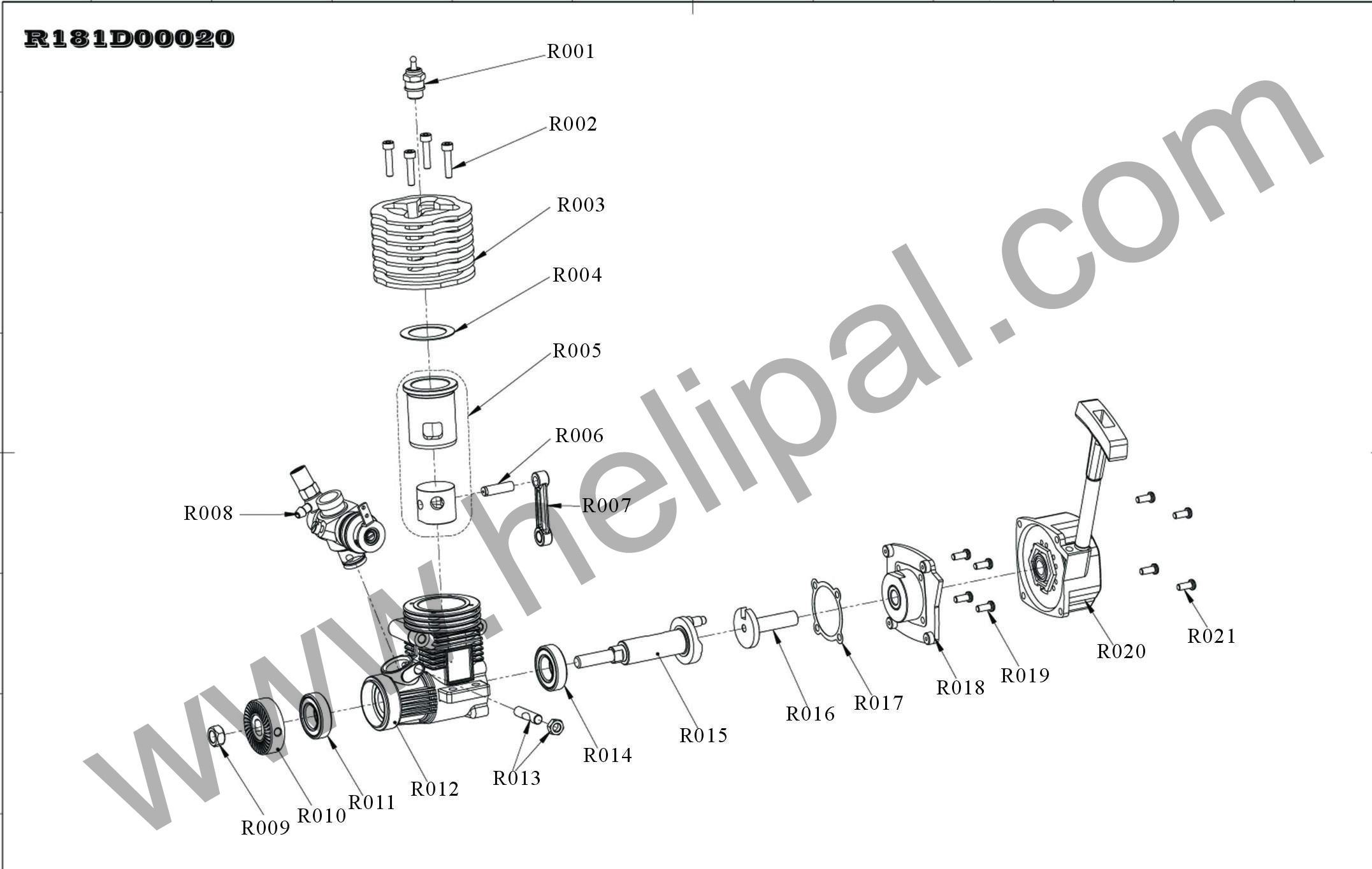 2008 Dodge Nitro Engine Diagram 2000 Hyundai Elantra Fuel Pump Wiring 0f Igesetze De Explosion For Hsp 16 18 Class Click To Enlarge Rh Pinterest Ca 4 0