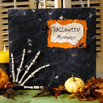 Spooky Decorations for Halloween Halloween scrapbook, Scrapbook - halloween decorations com