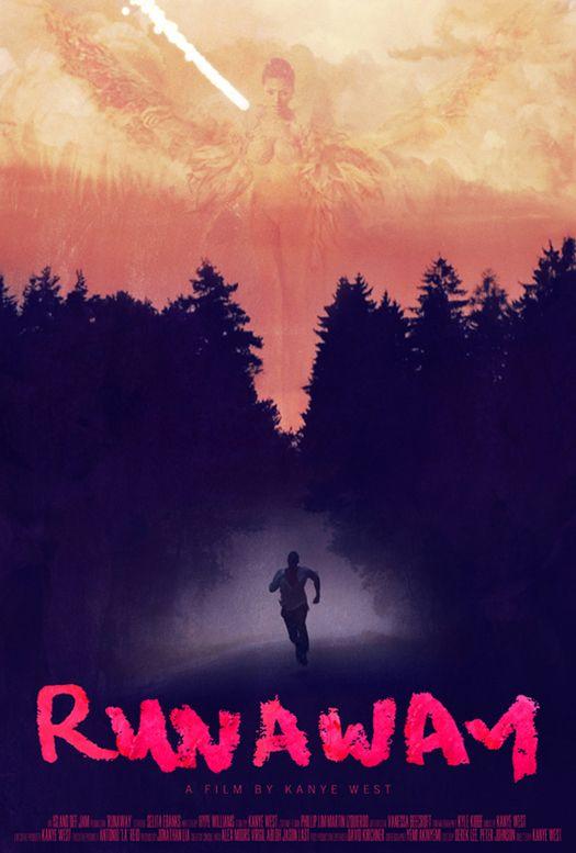 Runaway Kanye West Wallpaper Poster Artwork Beautiful Dark Twisted Fantasy