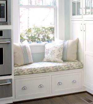 Kitchen Window Seat With Storage Below By Violet Window Seat