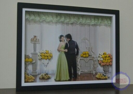 3D prewedding photo Special made for my friend