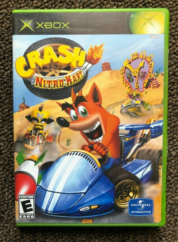 Crash Nitro Kart (Microsoft Xbox, 2003) Tested Complete в