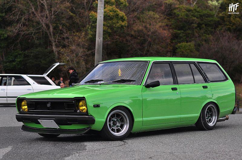 Nissan VB310 Sunny Datsun, Japanese cars, Retro cars