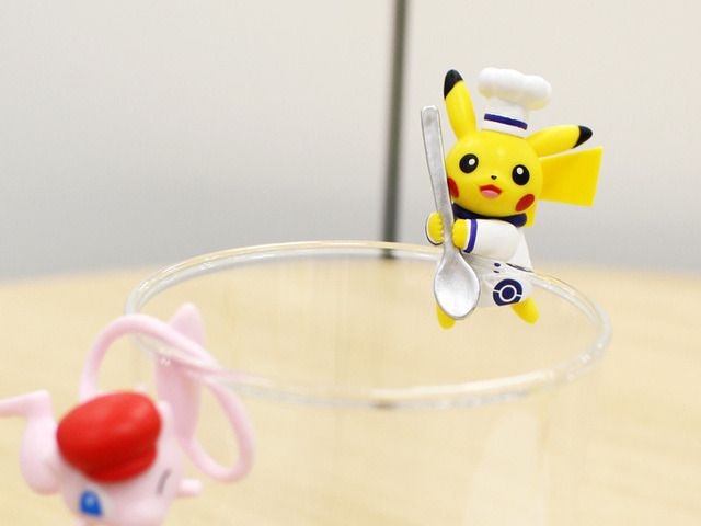 Pokemon Cafe Putitto Figures released by the Pokemon Center