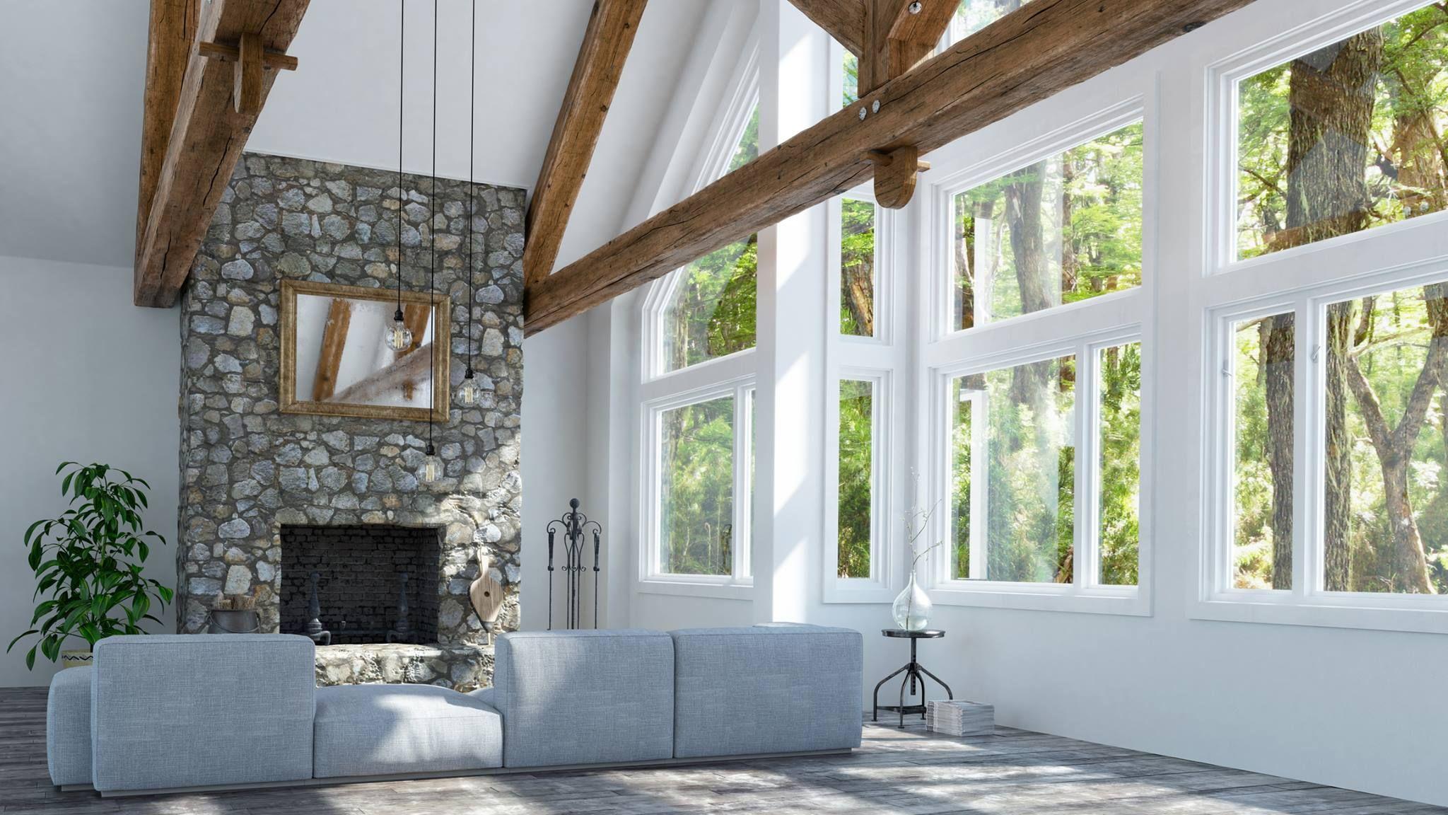 Install New Construction Windows Vinyl Replacement Windows