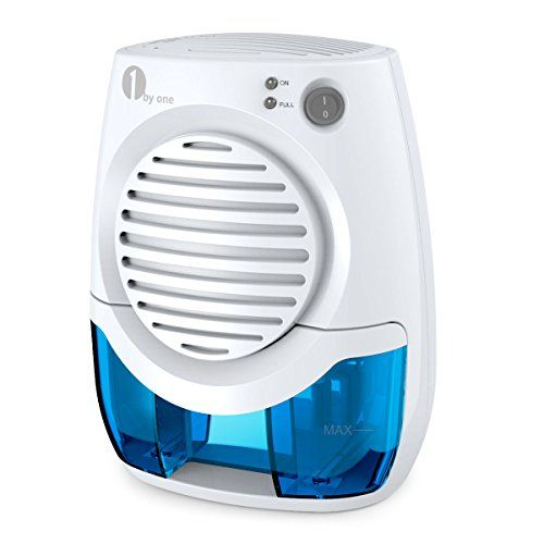 1byone 400ML Powerful Thermo Electric Dehumidifier, White.