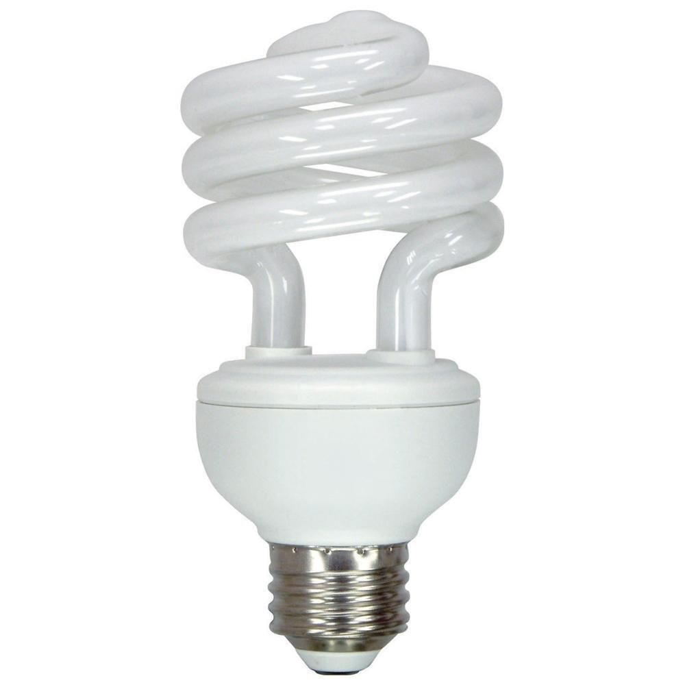 15 Watt Compact Fluorescent Cfl Light Bulb Edison Base Dc 12 Volt