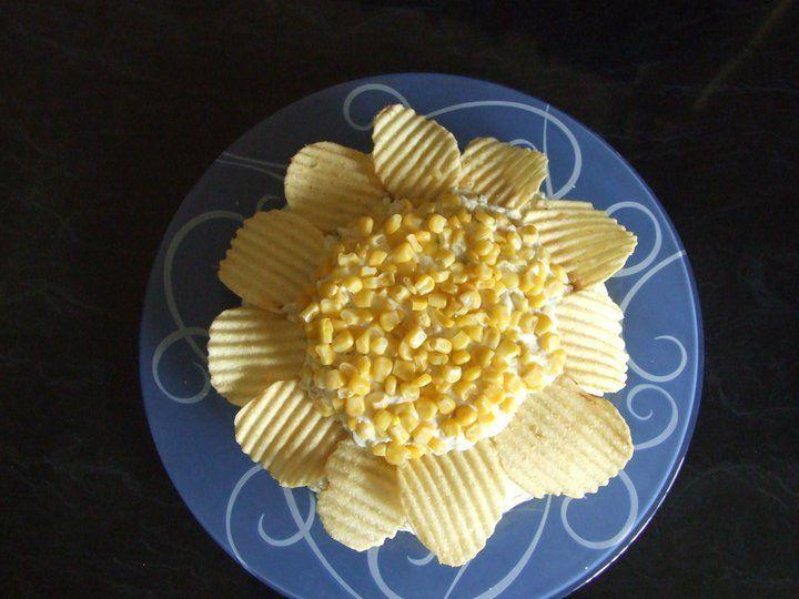 olviyeh salad Iranian style. ... chicken & Potato Salad (Salad Olviyeh)