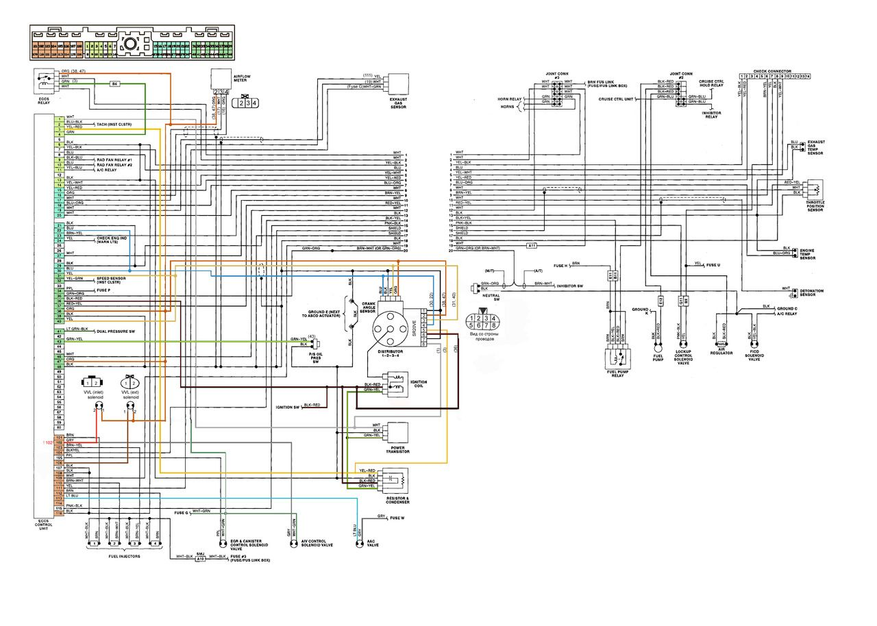 Nissan 350z ecu wiring diagram 1 Ecu diagram Nissan