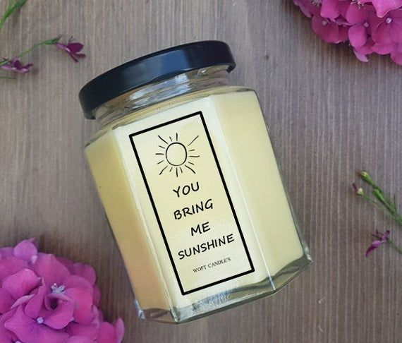 Great Screen Personalised Gifts For Girls, Best Friend Candle, Cute Gifts For Gi…