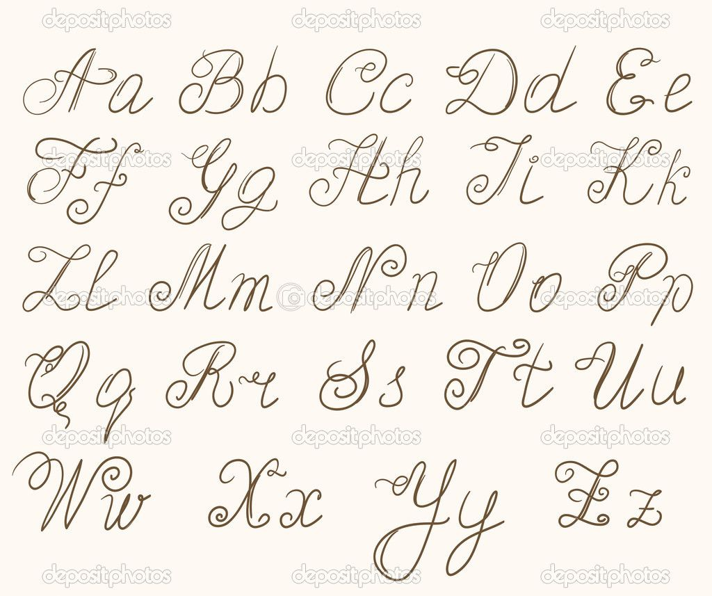 sierletters alfabet - google zoeken | bullet journal - calligraphy