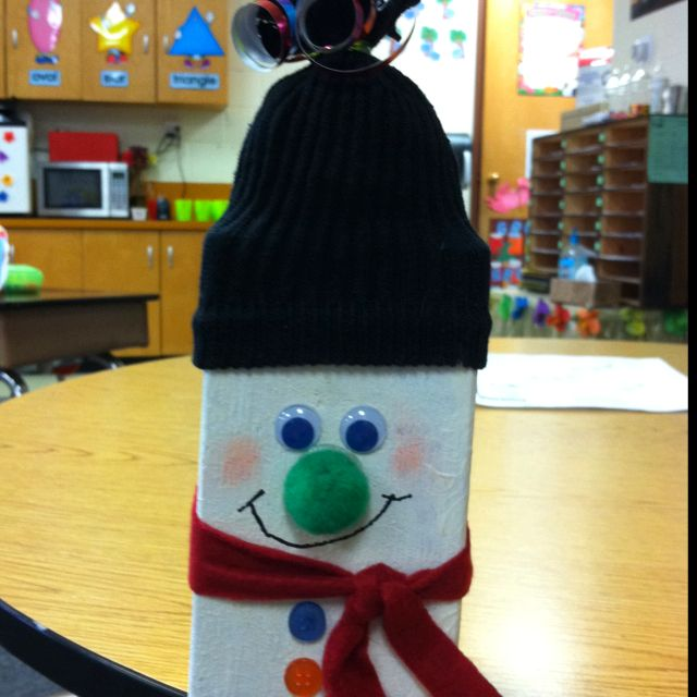 Christmas Gift For College Student: Parent Christmas Gifts Made By My 2nd Grade Students--easy