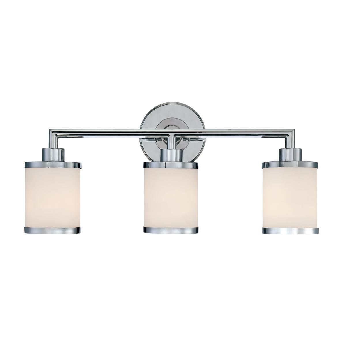 Contemporary urban bath vanity light 3 light master bed and bath