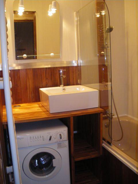 petit espace bien am nag lave linge sdb lovable laundry pinterest espaces minuscules