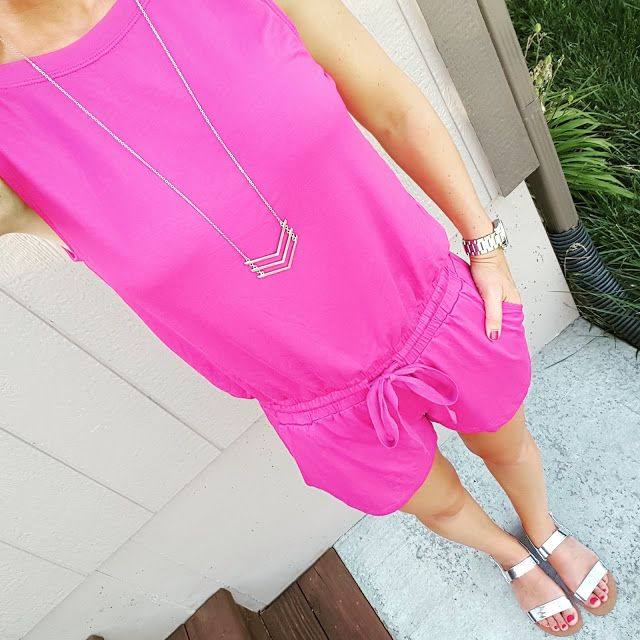 Wear It For Less: What I Wore: Stem Romper
