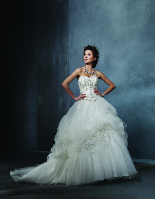 Ballgown Wedding Dress from Alfred Angelo