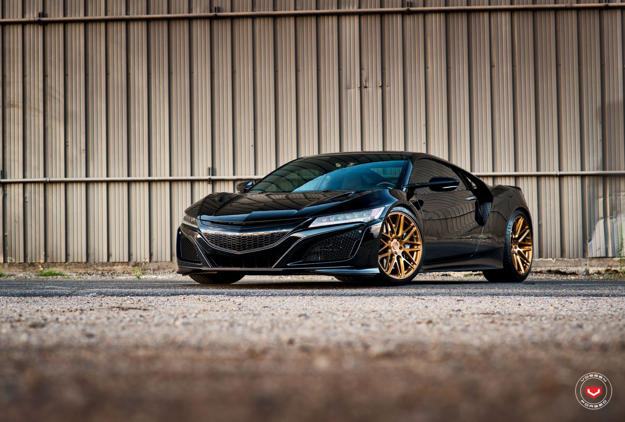 Modern Black Acura Nsx Speaks Of Luxury With Crystal Clear Led
