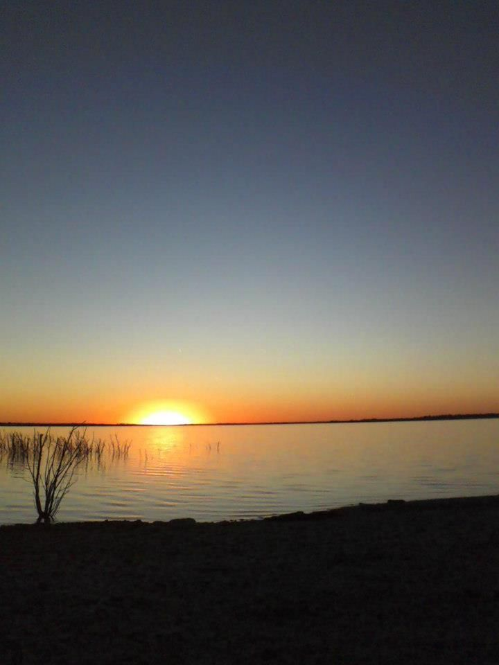 Another beautiful sunset while sitting at the Lake...very peaceful evening
