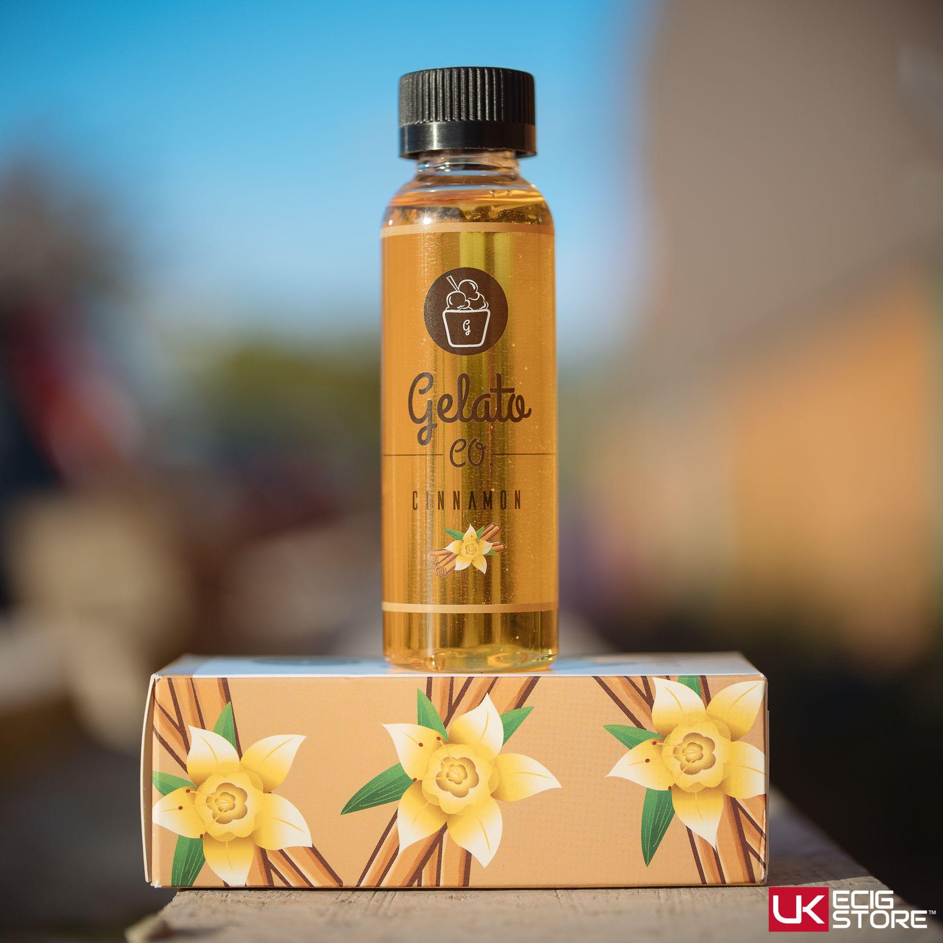 Gelato Co Cinnamon  Prominent Flavours: Cinnamon, Gelato  #Cinnamon #Gelato #ELiquid  Available in-store & online https://www.ukecigstore.com/gelato-co-cinnamon.html