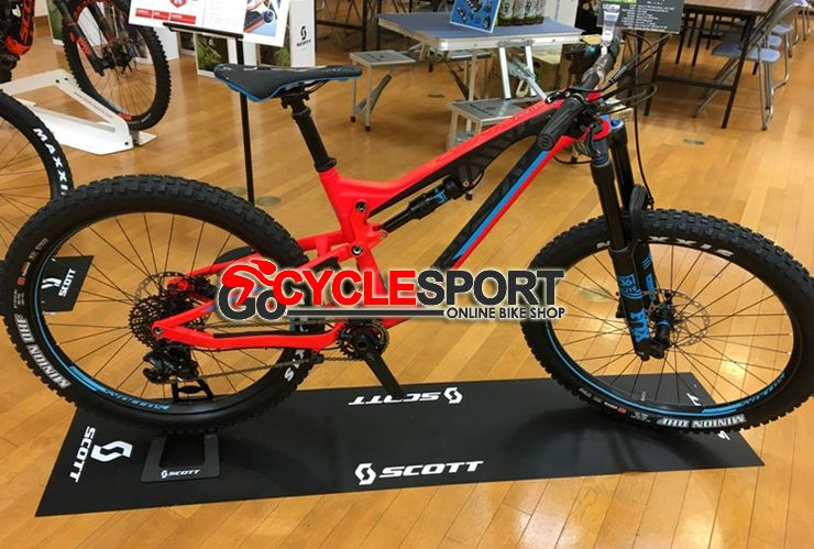 Buy 2017 Scott Genius Lt 710 Plus Mountain Bike From Gocyclesport