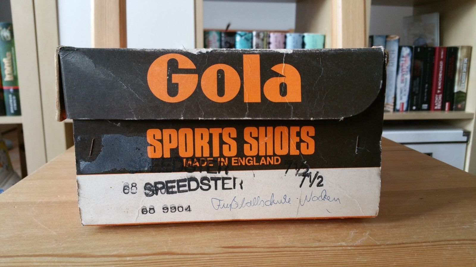 new products bbdfd 00c34 Gola Speedster Vintage 70s Made in England Fussball Schuhe 7 17