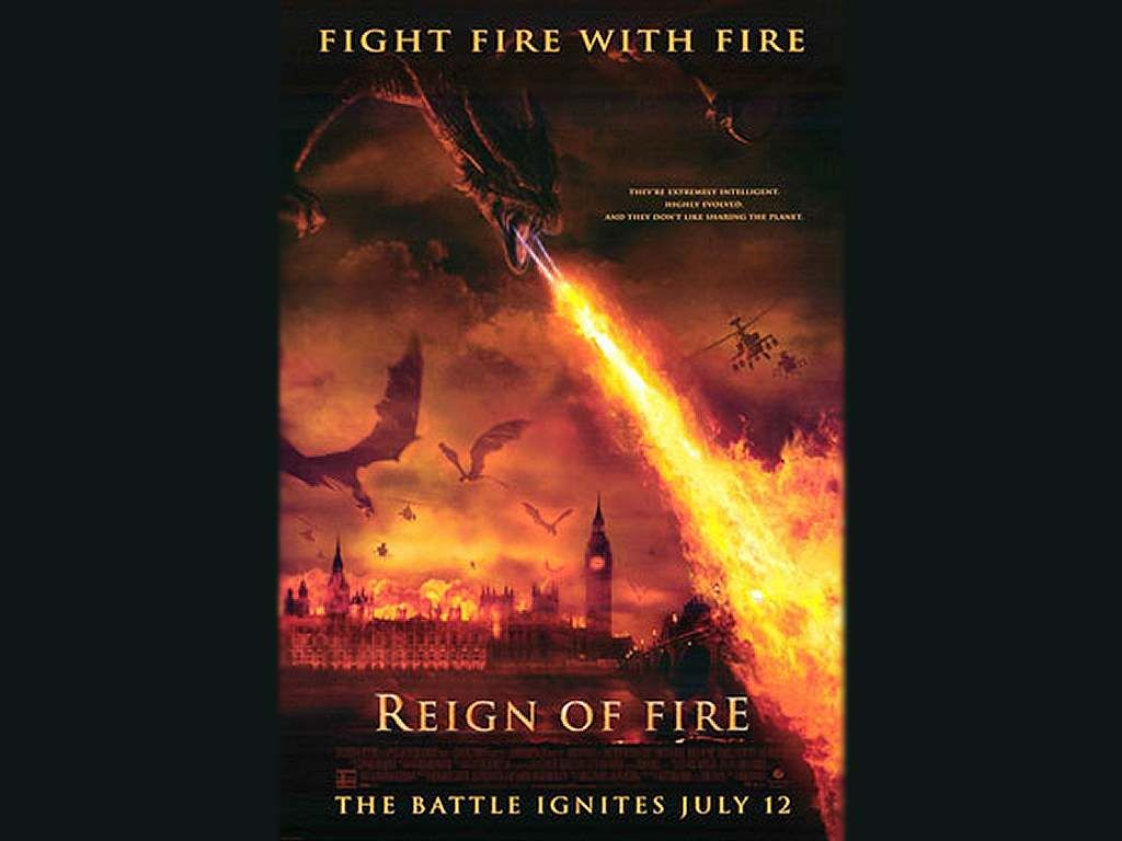 reign of fire | Reign of fire poster and wallpaper