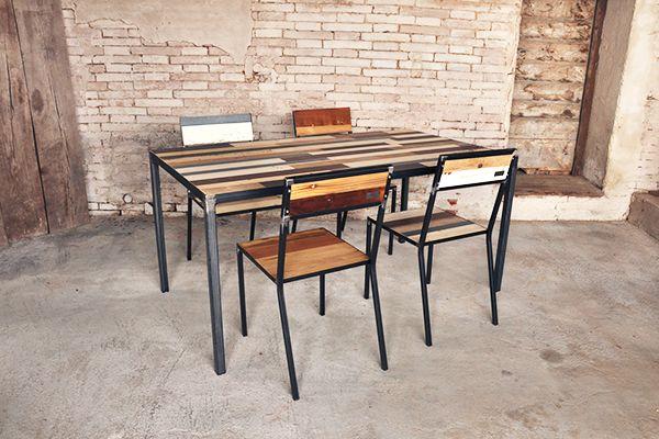 Botte Tavolo ~ Tavolo colore con piano ad incasso e sedie colore e botte riserva