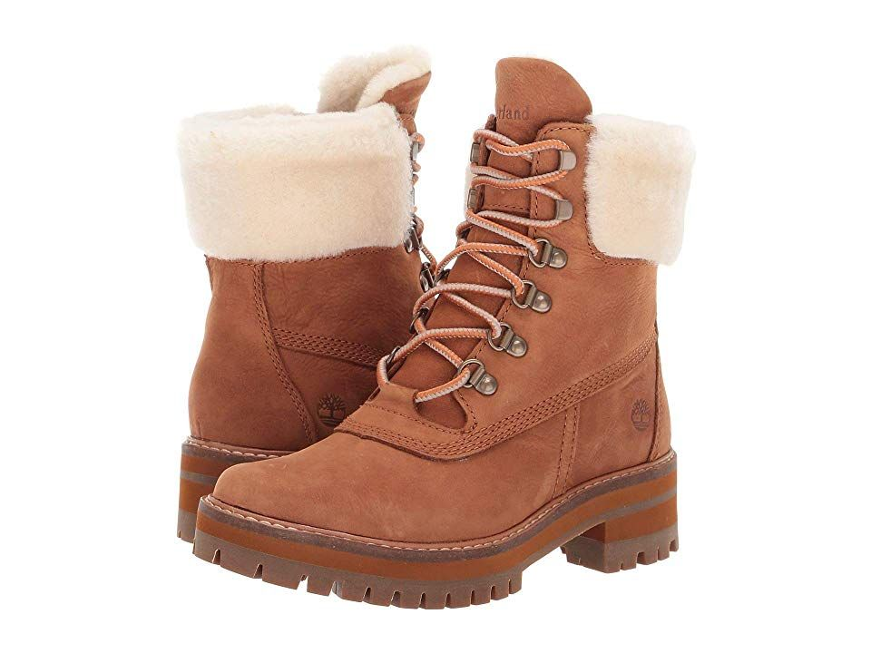 13a21d8f128 Timberland Courmayeur Valley 6 Boot with Authentic Shearling Lining ...