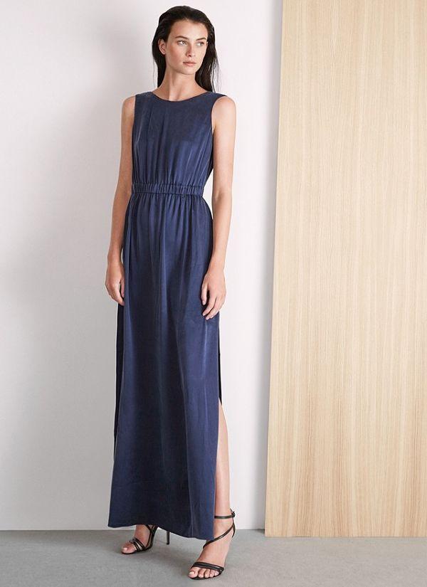 Vestido azul corto adolfo dominguez vestidos de noche for Adolfo dominguez coctel