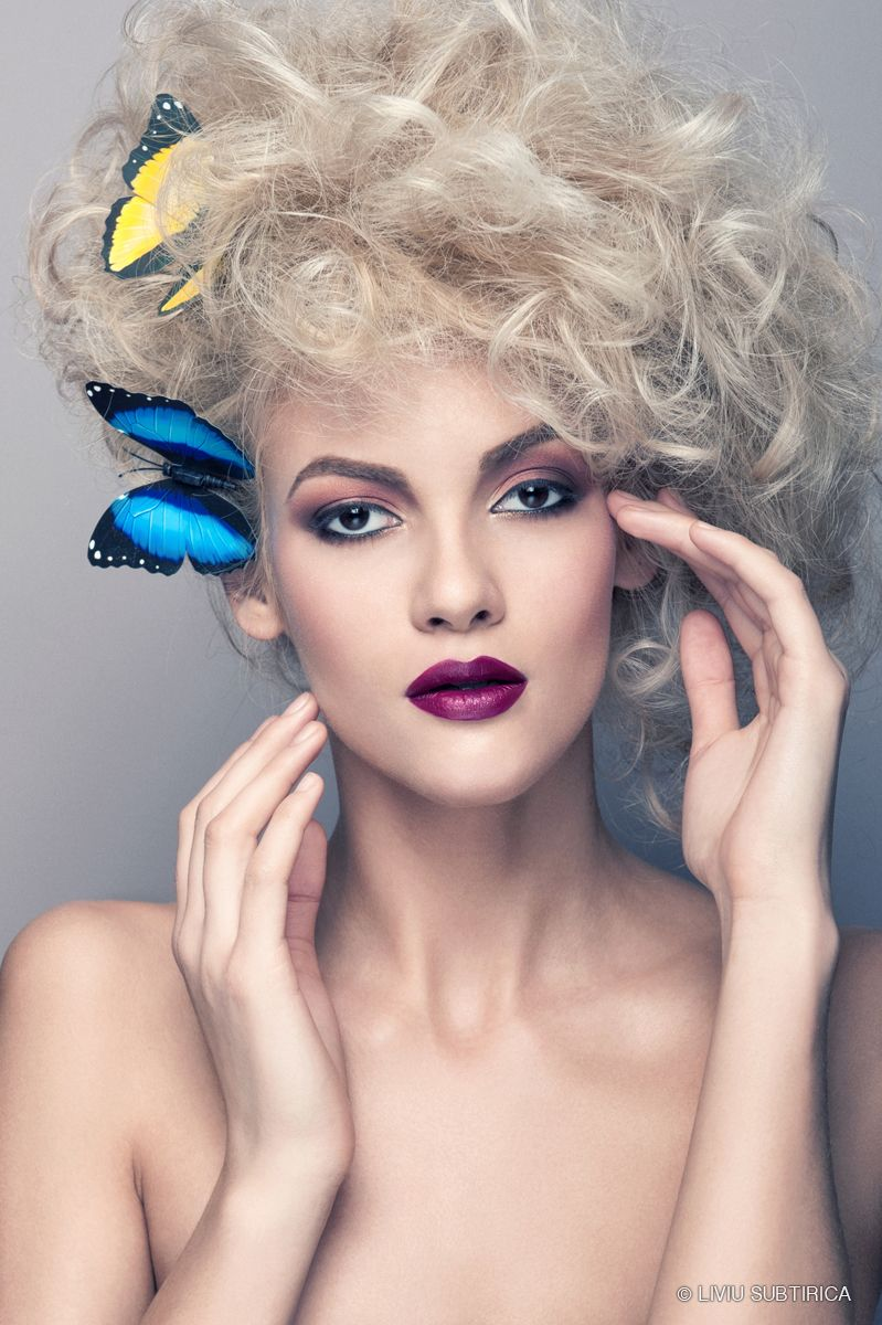 """Spring 2013 Makeup Trends """"Butterfy"""" by makeup artist"""