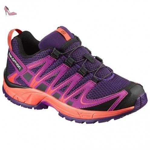 Salomon Xa Pro 3d K, Chaussures de Trail Mixte Enfant, Violet (Cosmic Purple