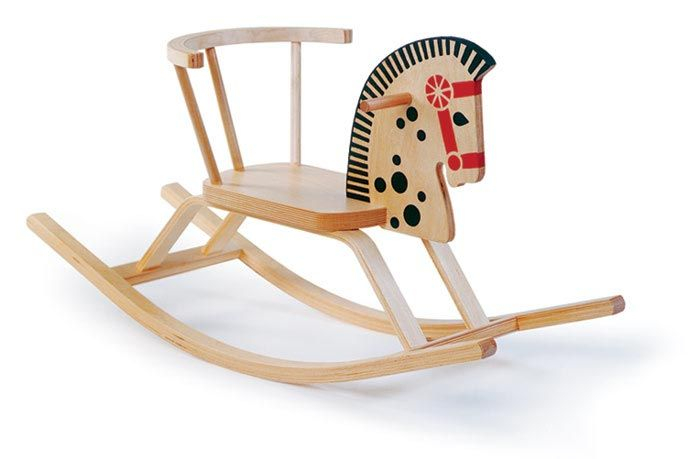 Baltic Rocking Horse Chair Modern Kids Chairs Classic Rocking Horse Rocking Horse