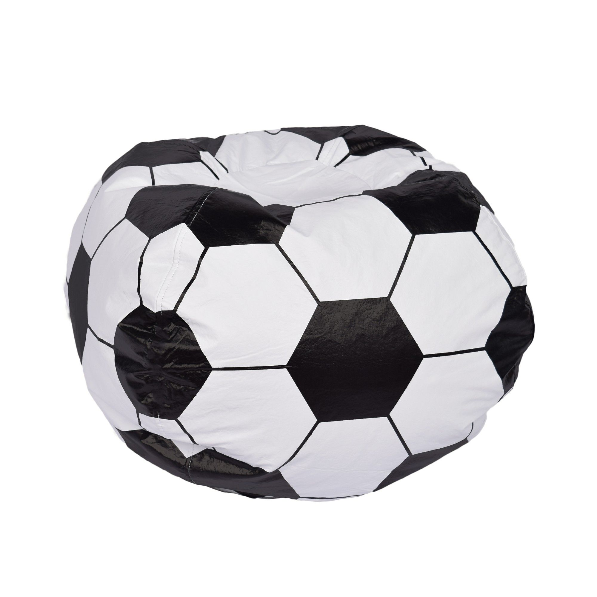 Astounding Acessentials Soccer Ball Bean Bag Chair Matte White Ace Ocoug Best Dining Table And Chair Ideas Images Ocougorg