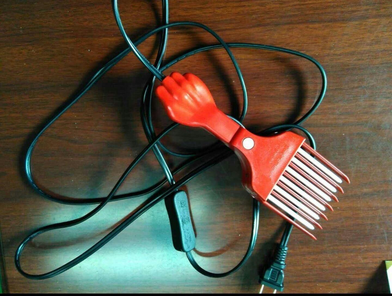 Heated Electric Hot Pick Beard Comb