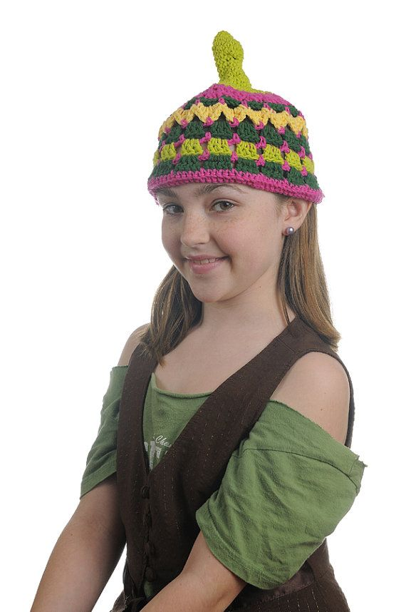 Quirky Girl or Odd Boy Crochet Whoville Hat by KnotJoe on Etsy, $12.00