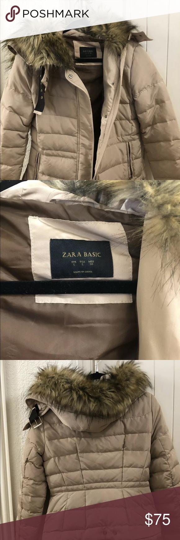 Zara Tan Down Quilted Puffer Jacket Beige Puffer Beige Puffer Jacket Quilted Puffer Jacket [ 1740 x 580 Pixel ]