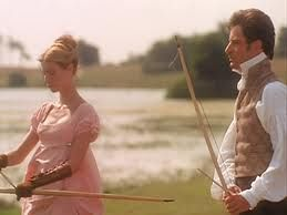 This one's got everything -- Jane Austen, romance, pretty dresses, archery, Gwyneth...