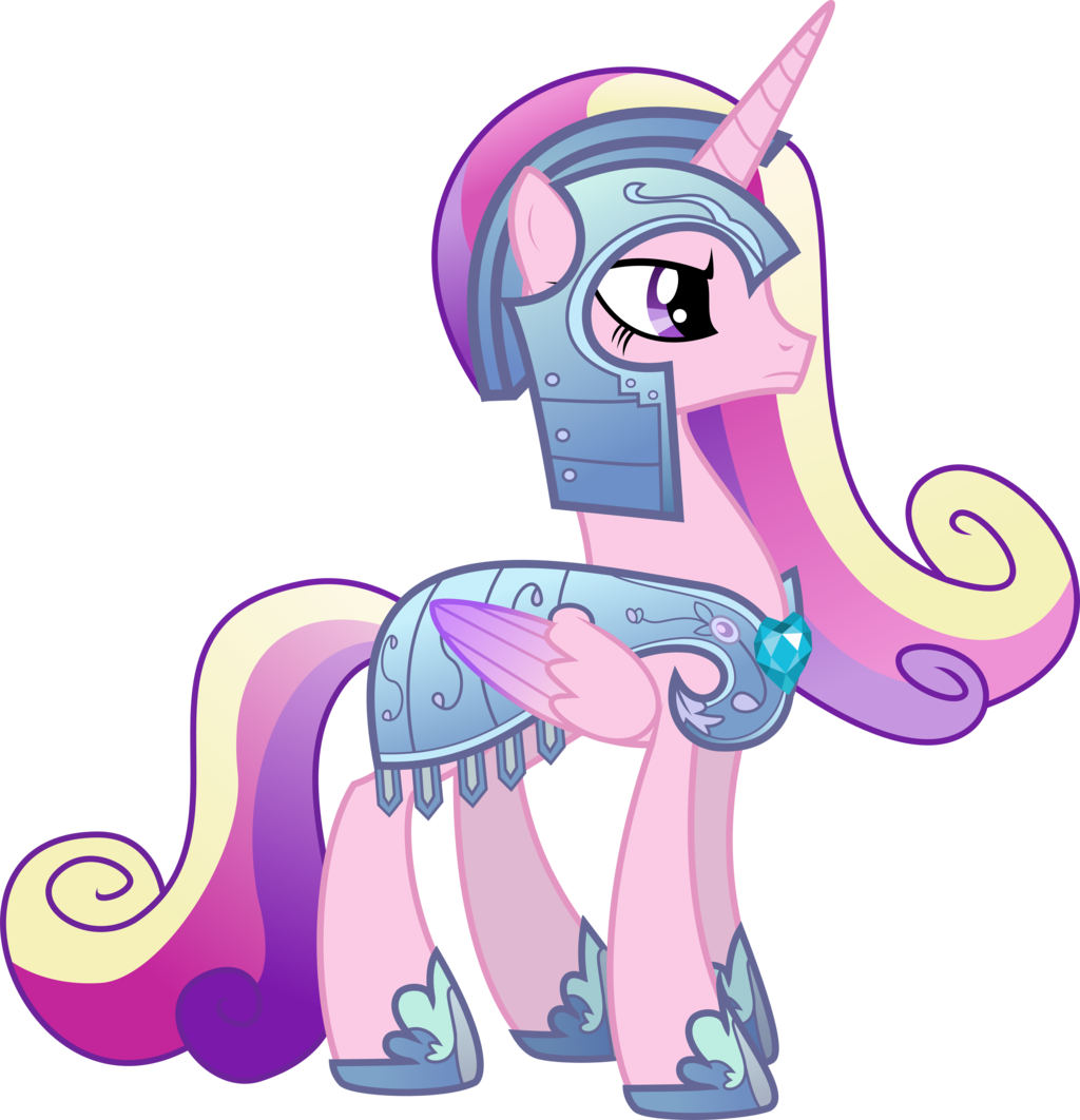 Princess Cadance In Royal Armor By Memershnick Deviantart Com On Deviantart