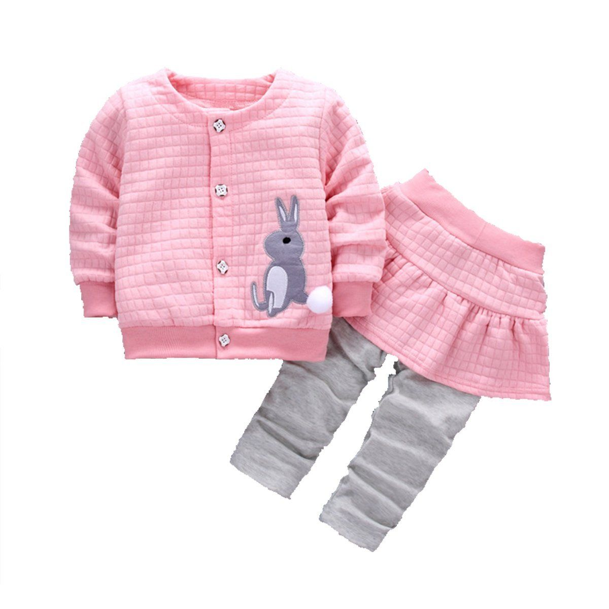 Baby Kids Boy Clothes 2pcs Suit Tops Pants Leggings Christmas Outfits Cute Gifts