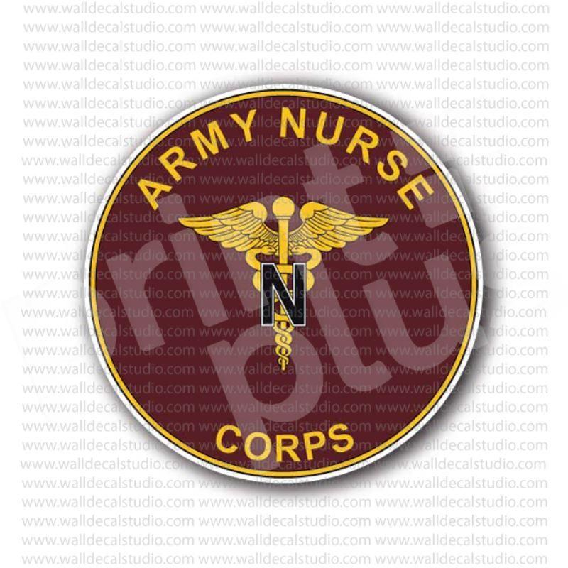 Army Nurse Corps Sticker