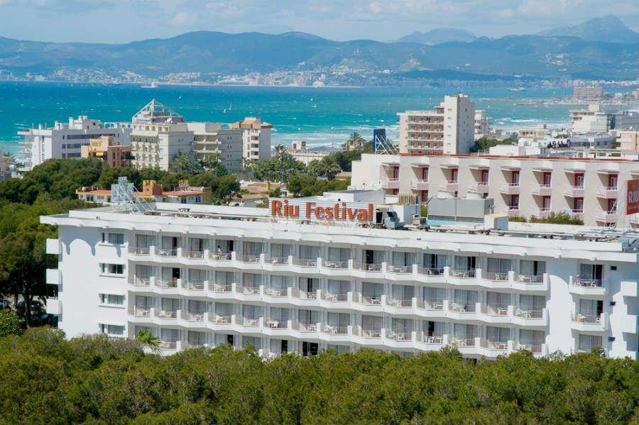 Hotel Riu Festival Beach Playa De Palma Riu Hotels Resorts Hoteles De Playa Ofertas De Vacaciones Mallorca