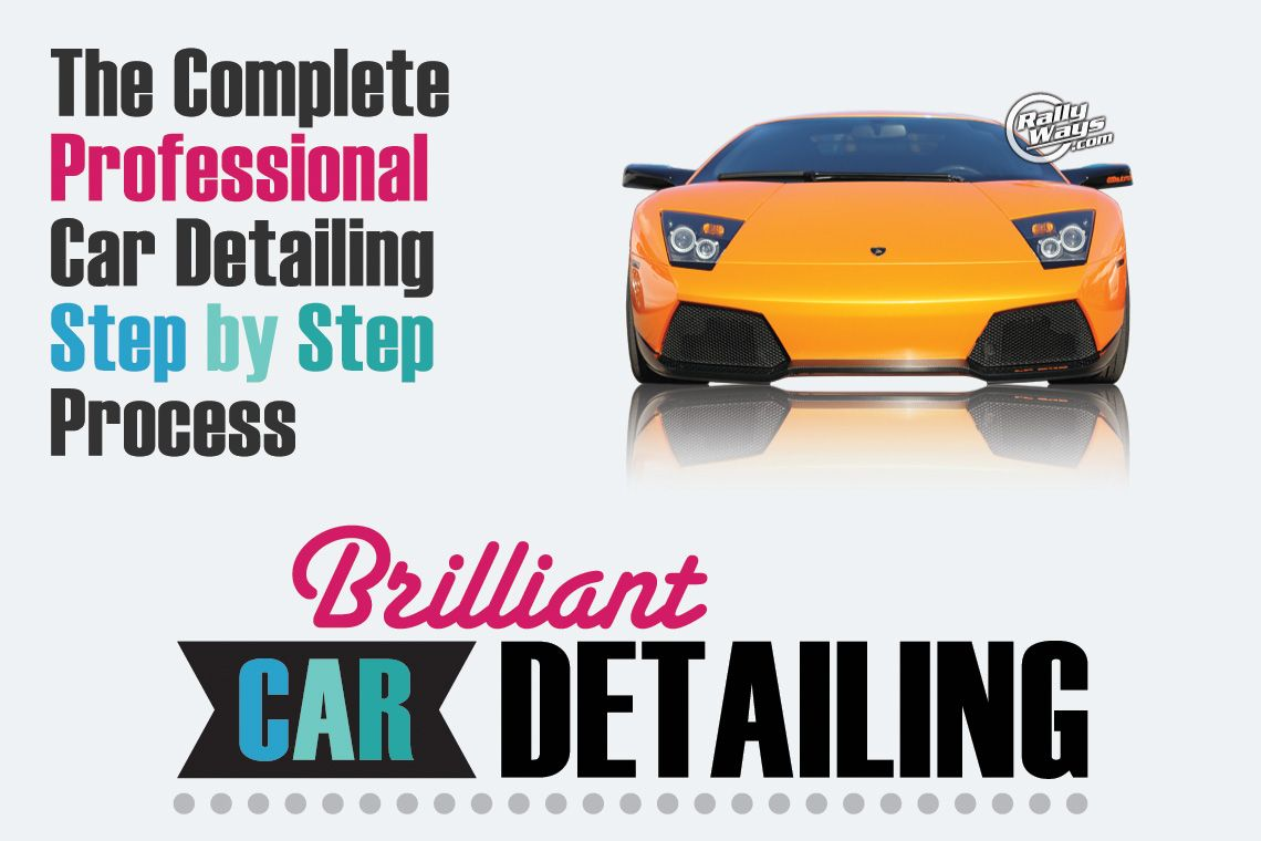The Complete Professional Car Detailing Step by Step